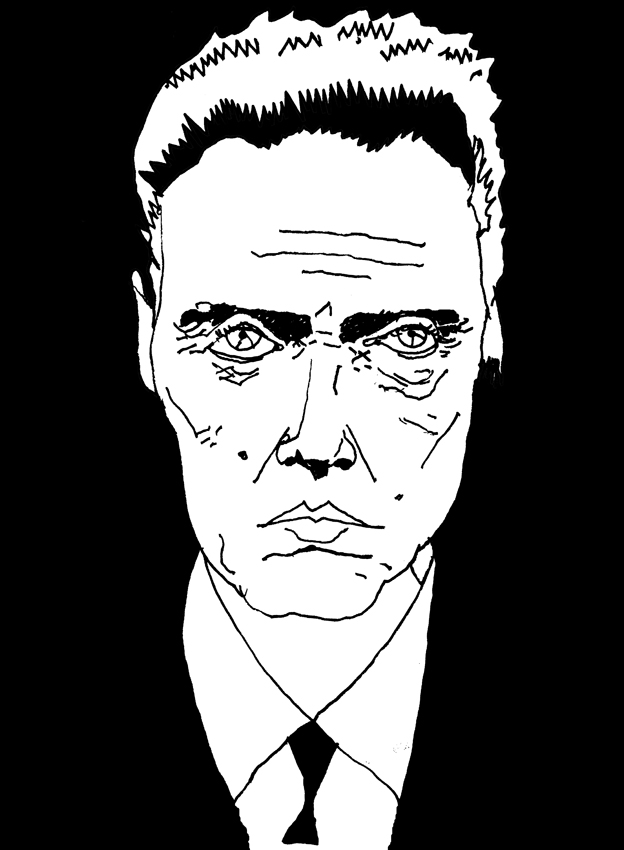 Christopher_Walken_by_Dennis_Eriksson